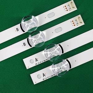 """Image 3 - 100% novos 8 pces (4 * a, 4 * b) tiras de led substituídas novas para lg innotek drt 3.0 42 """" a/b tipo 6916l 1709b 1710b 1957e 1956e 6916l 1956a"""