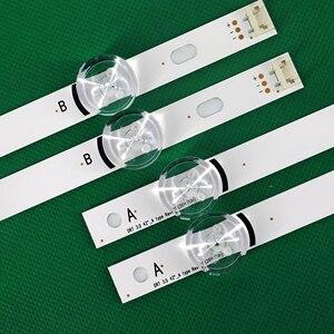 """Image 3 - 100% yeni 8 adet (4 * A,4 * B) LED şeritler yerine yeni LG INNOTEK DRT 3.0 42 """" A/B tipi 6916L 1709B 1710B 1957E 1956E 6916L 1956A"""