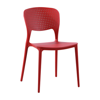 Modern minimalist plastic chair household thick stool backrest dining chair folding Nordic ergonomic chair outdoor