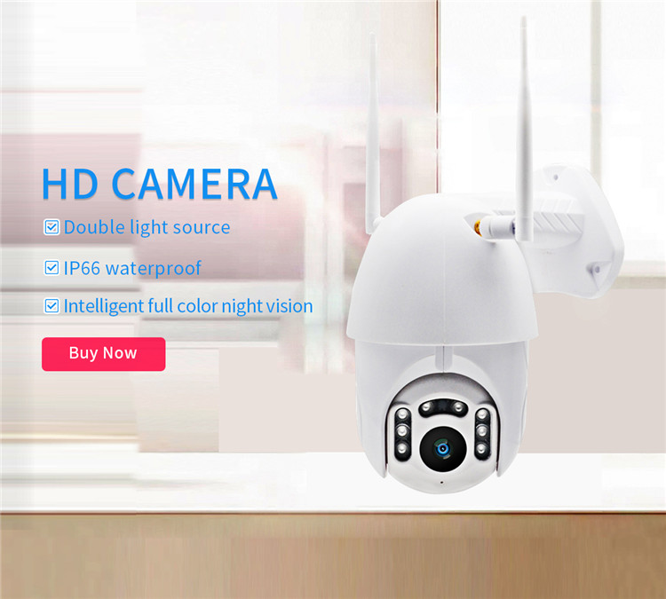 H1b7465632f1a414eb12bd139066143eaA 720/1080P PTZ Wireless Mini IP Camera Move Detection Infrared Night Vision Home Security Surveillance Wifi Camera Cloud Service