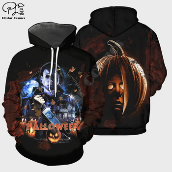 3D Printed hoodies Halloween All Saints Day Pumpkin Witch streetwear Funny zip Hoodie women for men Sweatshirt cosplay costumes