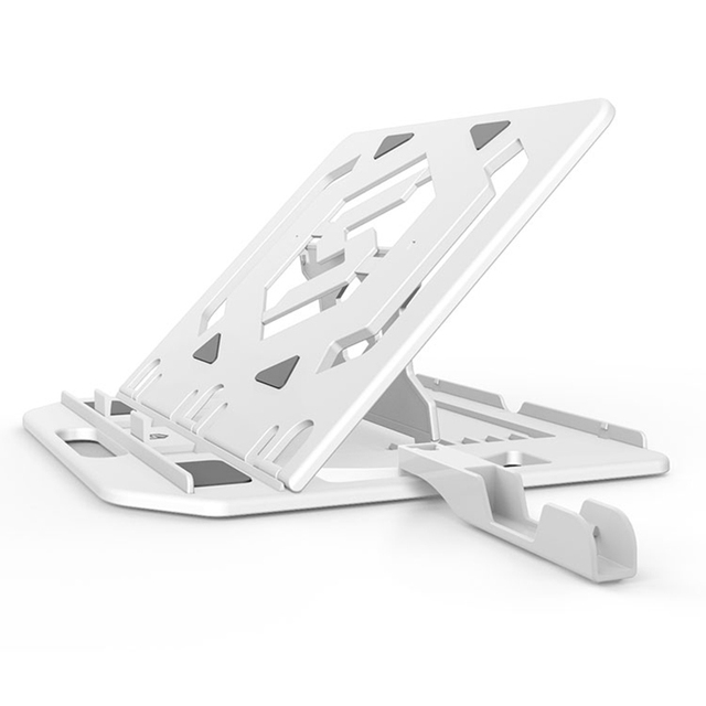 Réglage de la hauteur support dordinateur portable pour Macbook Lenovo ordinateur 360 degrés rotation fond ordinateur portable tapis de refroidissement support support de téléphone