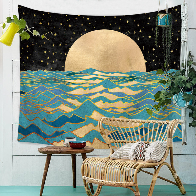 Landscape Printed Wall Tapestry 4