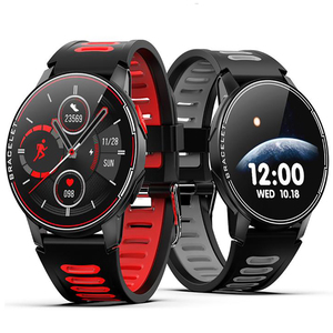 Image 2 - S20 IP68 Waterproof Smart Watch Fitness Tracker Heart Rate Monitor Smart Clock Men Women New Smartwatch For Android IOS