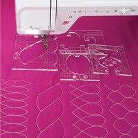 new ruler border sampler template set for sewing machine can create beautiful borders 1 set =4pcs #RL 04W