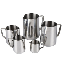 Flower-Cup Milk-Pot Frothing-Jug Cappuccino Latte-Art Coffee Pitcher Stainless-Steel