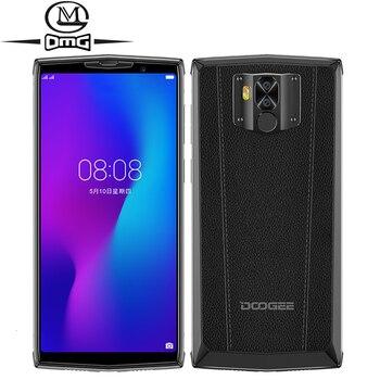 Перейти на Алиэкспресс и купить DOOGEE N100 NFC 10000 мАч Android 9,0 мобильный телефон 4 Гб + 64 Гб 5,99 ''FHD + дисплей Helio P23 MT6763 Восьмиядерный 21MP 4G смартфон