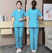 Зимний костюм медсестры с длинным рукавом коротким большого