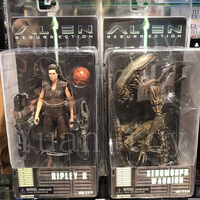 7inch Original NECA Alien Series 14 Ripley 8 Resurrection Xenomorph Warrior Action Figure Collection Model Toy Doll Gift