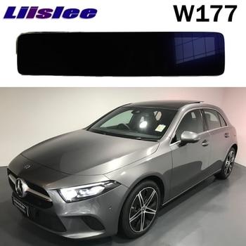 LiisLee voiture multimédia GPS Audio Radio stéréo pour Mercedes Benz A classe W177 A200 AMG 2018 2019 2020 Navigation NAVI