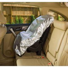 Protetor da máscara do sol do assento do bebê do carro para crianças criança filme de alumínio
