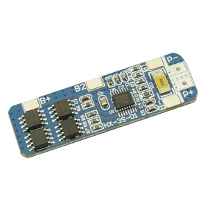 Image 4 - Hot 3C 3S 10A 12V Lithium Battery Charger Protection Board Module for 3pcs 18650 Li ion Battery Cell Charging BMS 10.8V 11.1V 12