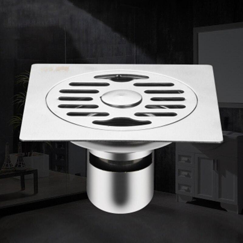 15% 2A15см большой объем утолщение защита от перелива ванная нержавеющая сталь пол слив с стиральной машинкой переходниками