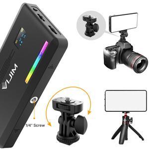 Image 2 - VIJIM Luz LED VL196 RGB para vídeo 2500K 9000K, luz de relleno regulable, lámpara de luz Vlog para teléfono inteligente, Kit de iluminación de fotografía Ulanzi
