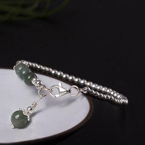 Jade Beads Bracelet Hand Accessories Wom