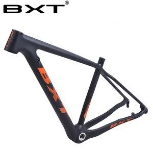 Image 2 - BXT marka wzmocnienie karbon mtb rama 29er mtb rama karbonowa 29 węglowa rama roweru górskiego 142*12 lub 148*12mm ramy rowerowe