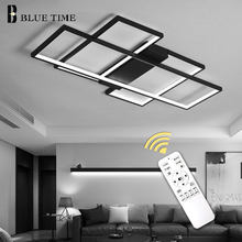 Black&White Body Modern LED Chandeliers For Living Room Bedroom Home Fixtures Led Ceiling Chandelier Lighting Lampara de techo(China)