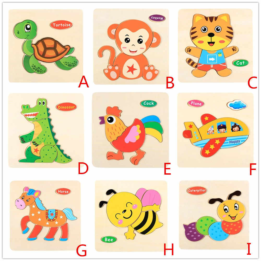 Education Toy gift for kid Wooden toys for children's boys puzzle kids toys Educational Developmental Baby Kids Training Toy