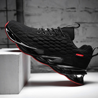 Blade Running Shoes For Men Breathable Mesh Socks Sneakers Antiskid Damping Outsole Athletic Sport Shoes Training Run Zapatills