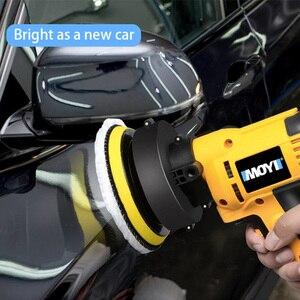 Image 5 - Xe Máy Đánh Bóng DA 5Inch 125Mm Quỹ Đạo Tác Động Kép Tự Động Máy Đánh Bóng Tốc Độ Biến Đổi Nhám ĐỆM PHỒNG Xe Dụng Cụ Lấy Ráy Tai và Máy