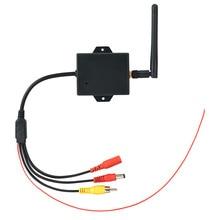 Módulo de visión trasera para coche, Cable duradero, fácil de instalar, CC de 12V, transmisor de cámara de marcha atrás inalámbrico, sistema de señal de estacionamiento AV a WiFi