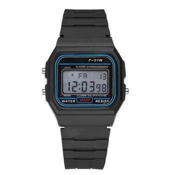 Sportowe cyfrowe zegarki z oświetleniem LED inteligentny zegarek Casual Luminous Watche z krokomierzem wielofunkcyjny męski wodoodporny tanie i dobre opinie ONLENY Brak Na nadgarstku Wszystko kompatybilny 128 MB Passometer Fitness tracker Uśpienia tracker Budzik Tętna Tracker