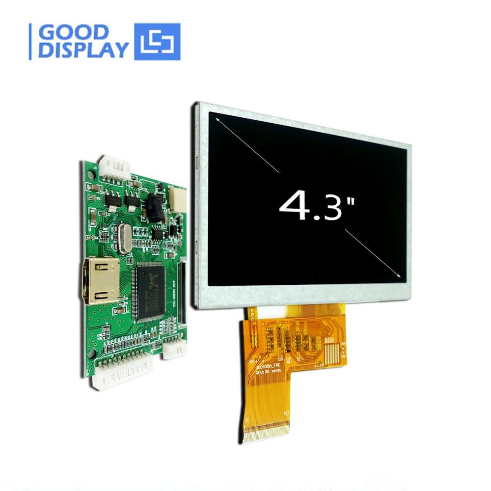 4.3 Inch Raspberry Pi TFT LCD Display HDMI Driver Board, GDTE043A1-4