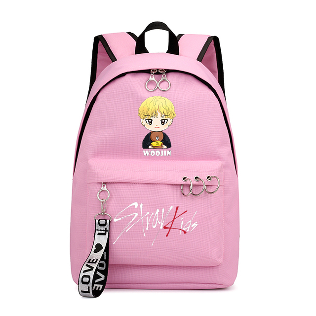 STRAY KIDS THEMED BACKPACK (30 VARIAN)