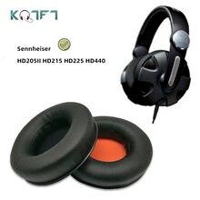 Kqtft 1 пара сменных амбушюр для sennheiser hd205ii hd215 hd225