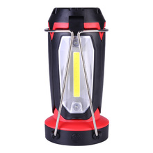3-in-1 LED Camping Lantern Rechargeable Flashlight Desk Lamp Light for Hiking Fishing Outdoor WWO66
