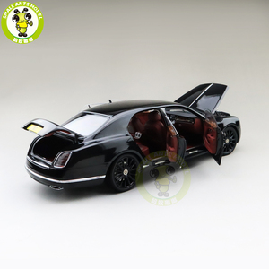 Image 3 - 1/18 Almost Real Mulsanne W.O. Edition Mulliner Diecast Metal Model car Gifts Collection Hobby