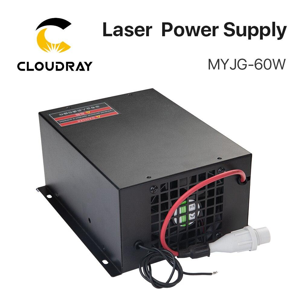 Cloudy 60W CO2 laser-toiteallikas CO2 lasergraveerimisega - Puidutöötlemismasinate varuosad - Foto 3