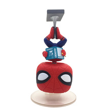 Pop Spiderman Hanging Reading Books Ver Spider Man Homecoming Figure Collection Vinyl Doll Model Toys