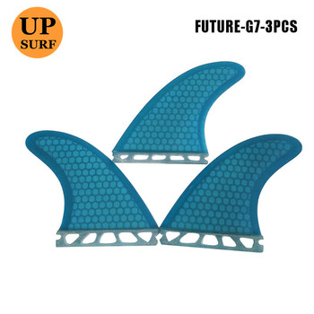 Future G7 Tri set Fins Honeycomb Fin L Size Surfboard Fin Quilhas surfing future fins уплотнитель 6 м профиль e коричневый сибртех р