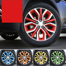 Lsrtw2017 Car Styling Wheel Hup Decoration for Mitsubishi Outlander 2013 2014 2015 2016 2017 2018 2019 2020