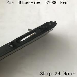 Image 3 - الأصلي Blackview BV7000 برو تستخدم شاشة الكريستال السائل شاشة تعمل باللمس الإطار واجهة المطاط سدادة ل Blackview BV7000 برو