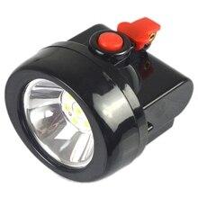 Kl2.5Lm(A)Led Miner Cap Light Miner'S Helmet Lamp Mining Head Light Lamp (Us Plug)