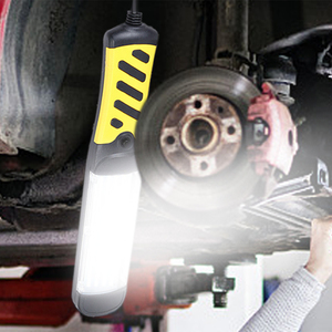 Image 5 - Draagbare Led Emergency Zaklamp 80 Leds 40W Veiligheid Werk Licht Opknoping Magnetische Auto Inspectie Reparatie Handleld Werk Lamp