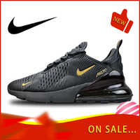 Original authentique Nike Air Max 270 hommes chaussures de course en plein Air coloré baskets léger respirant chaussures AH8050-007