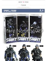 1/6 action figure SWAT Team troops soldiers (3 Set) collection model toy