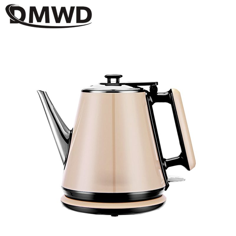 DMWD 1360W 220V Stainless Steel Electric Kettle Household Small Capacity 1L Tea Kettle Classic Coffee Pot Automatic Power Off