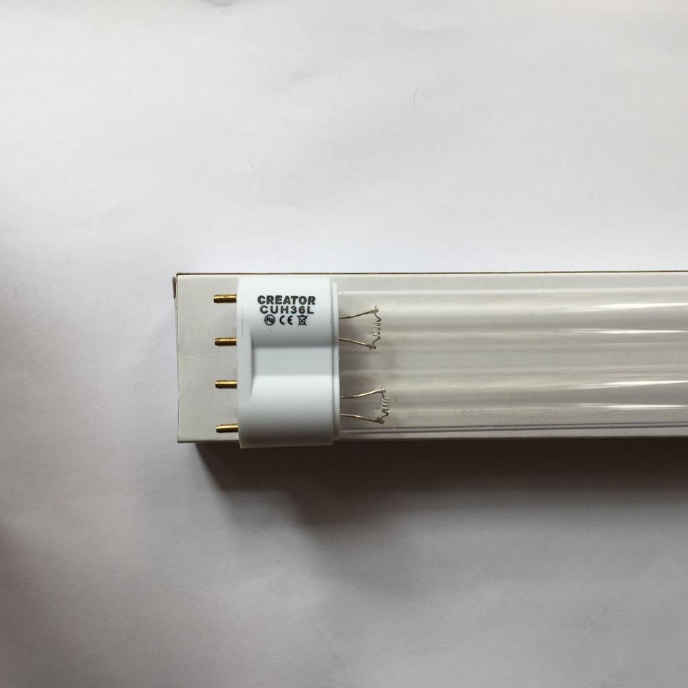 GUH60L 2G11 10000H ,UVC 18W 24W 36W 60W 4-Pin UV Tubes Bactericidal Lamp,2G11 36W UV ,24W UV