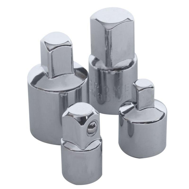 ELEG-4 en 1 1/2x 3/8 3/8x 1/4 3/8x 1/2 1/4x 3/8 Douille Réducteurs Adaptateurs Ensemble Doutils Garagistes Ingénieurs BRICOLAGE Gadgets