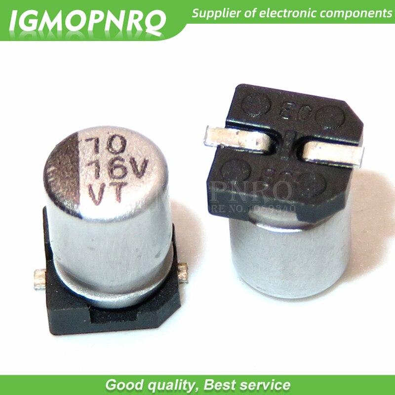 200Pcs Tantalum Capacitor DIP 16V10UF 10UF 16V 106 Radial