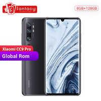 In Lager Globale Rom Xiao mi mi CC9 Pro 8GB 128GB Snapdragon Smartphone 730G 108MP Penta Kameras 6,47 AMOLED Gebogene Bildschirm 5260mAh