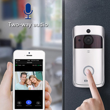 Doorbell-Camera Chime Visual-Intercom Video Wifi Ip-Door Smart Night-Vision Eken V5 Wireless