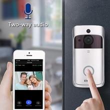 EKEN V5 смарт WiFi видео дверной звонок камера визуальный домофон с чимом ночного видения IP дверной звонок беспроводная домашняя камера безопас...