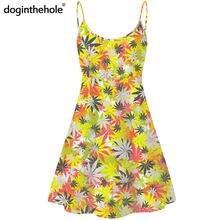Женское винтажное платье без рукавов doginthehole элегантное