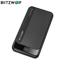 BlitzWolf 10000mAh 22.5W Digital Display QC3.0 PD3.0 SCP Dual Output Input Smart Power