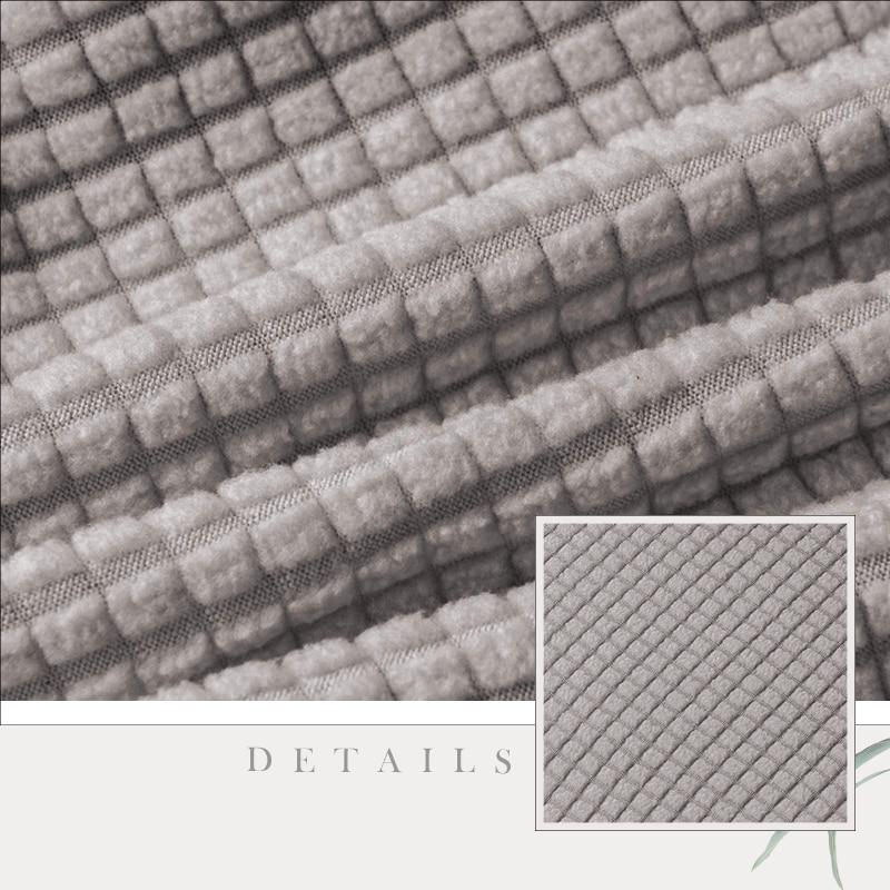 Lellen Round Chair Cover Polar Fleece Fabric Seat Cover Bar Stool Cover For Bar Banquet Hotel